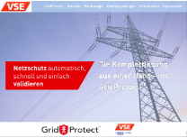 GridProtect - Homepage www.gridprotect.de